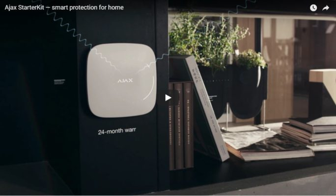 Ajax StarterKit - smart protection